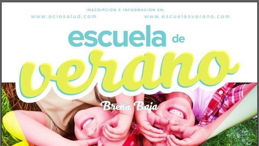Cartel de la Escuela de Verano.