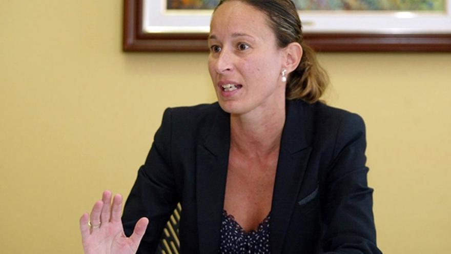 Cristina Hernández Carnicer, directora de la Agencia Tributaria Canaria (DA)
