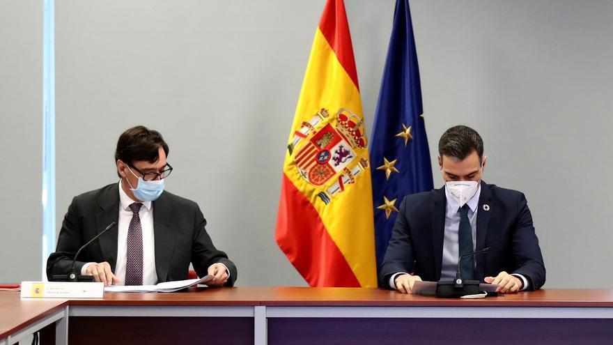 Sánchez se volcará en la campaña catalana para arropar a Salvador Illa