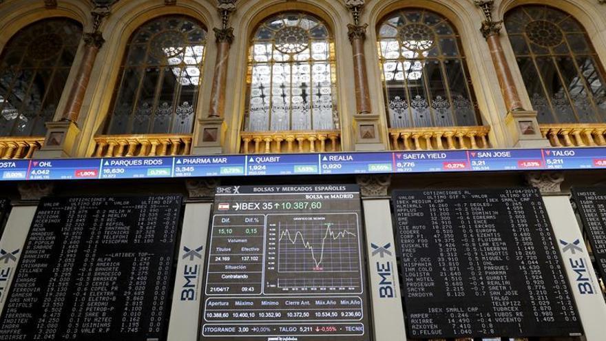 La Bolsa se dispara un 3,27 % por el resultado de las elecciones francesas