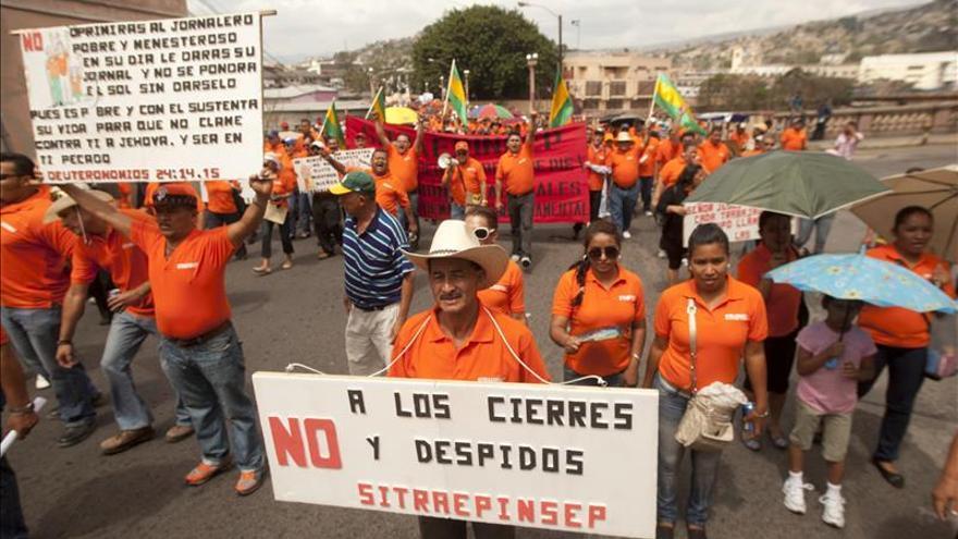 Trabajadores hondureños piden refundar el Estado por medio de Constituyente