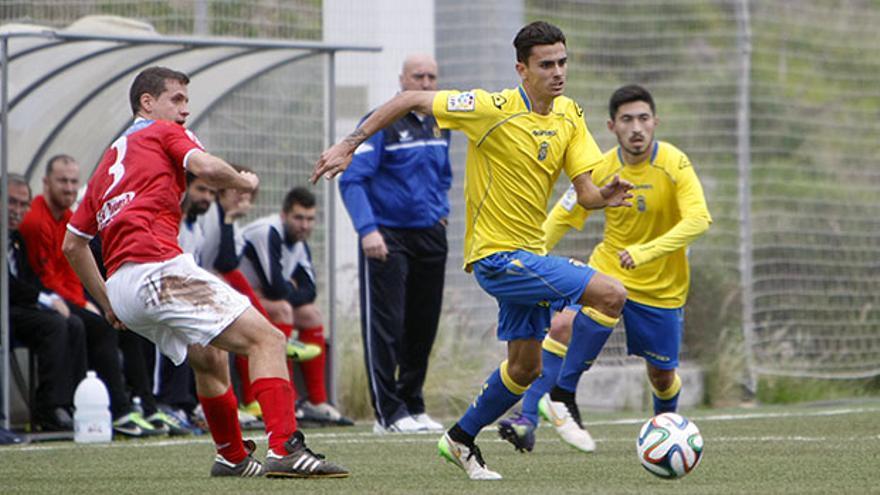 Las Palmas Atlético venció en el Anexo al Fuenlabrada. FOTO: Iván León Santiago/www.udlaspalmas.es