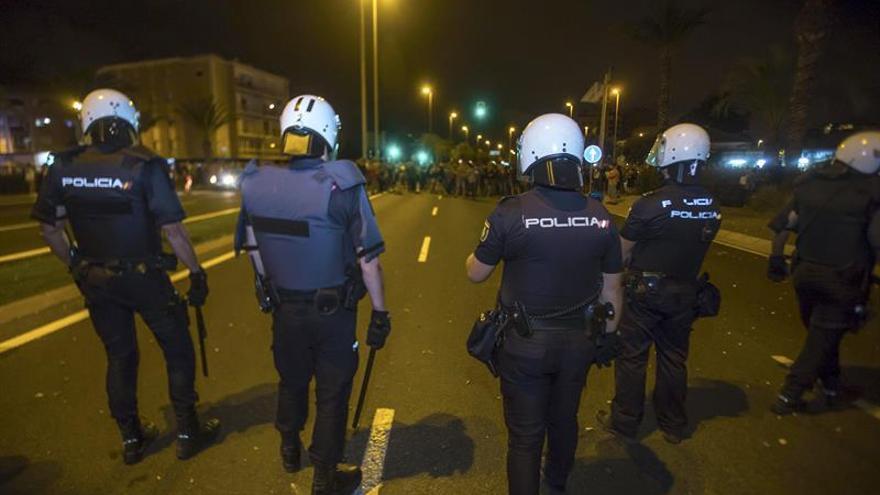 Adif denuncia más sabotajes en las vías férreas de Murcia en la protesta de anoche
