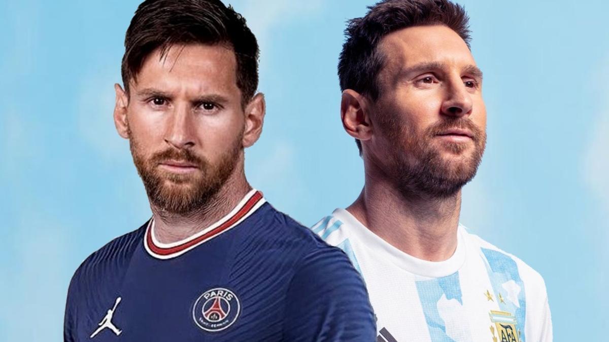 Messi estará un mes a pleno, entre PSG y la Selección.