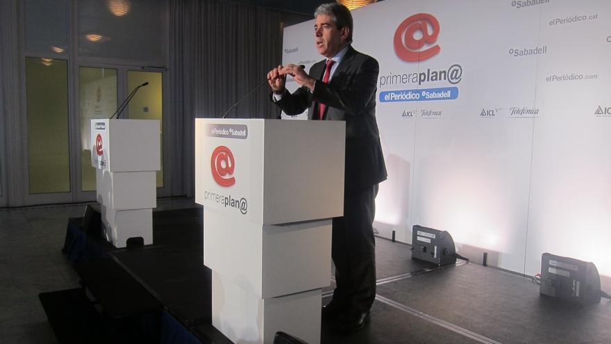 "20D-. Homs critica que Colau sitúa a Madrid como capital por ""entusiasmo"" por Podemos"