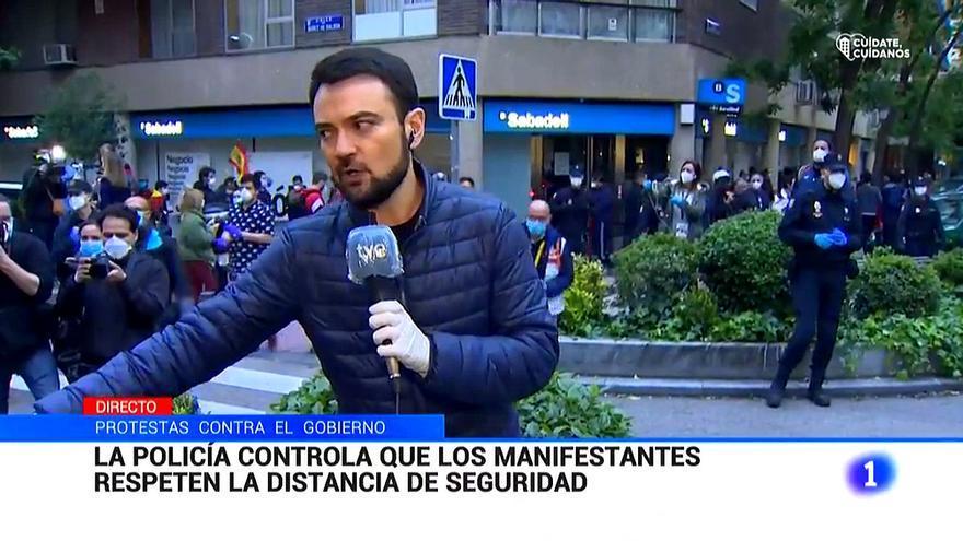 """El Consejo de Informativos critica que se pusiera en """"peligro"""" a un periodista de TVE en el barrio de Salamanca"""