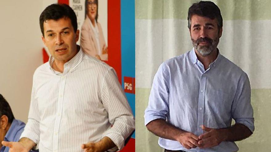 Gonzalo Caballero y Juan Díaz Villoslada, aspirantes a la secretaría general del PSdeG-PSOE