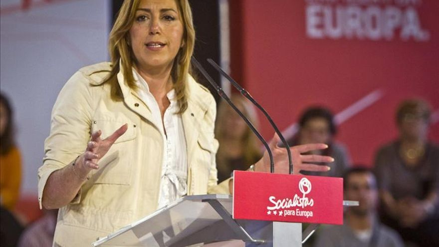 Susana Díaz no descartó elecciones anticipadas por el conflicto de la corrala