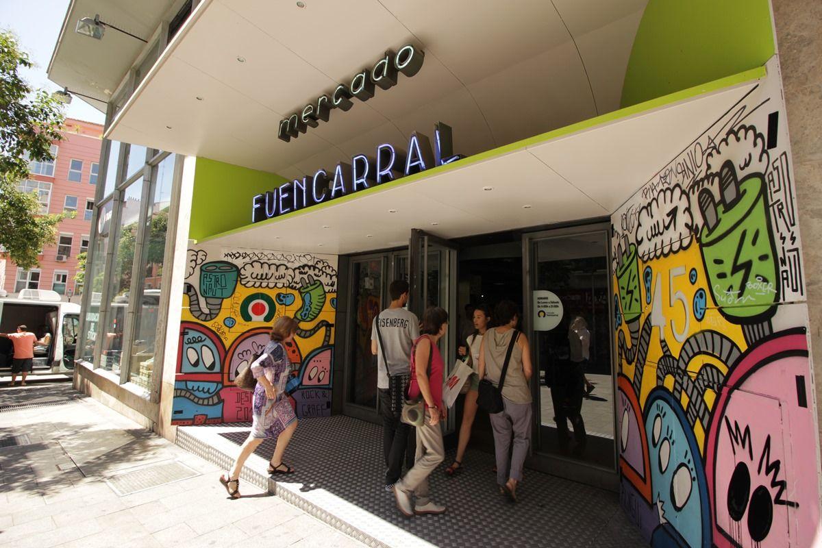 El Mercado de Fuencarral, en su último día de apertura |RAQUEL ANGULO