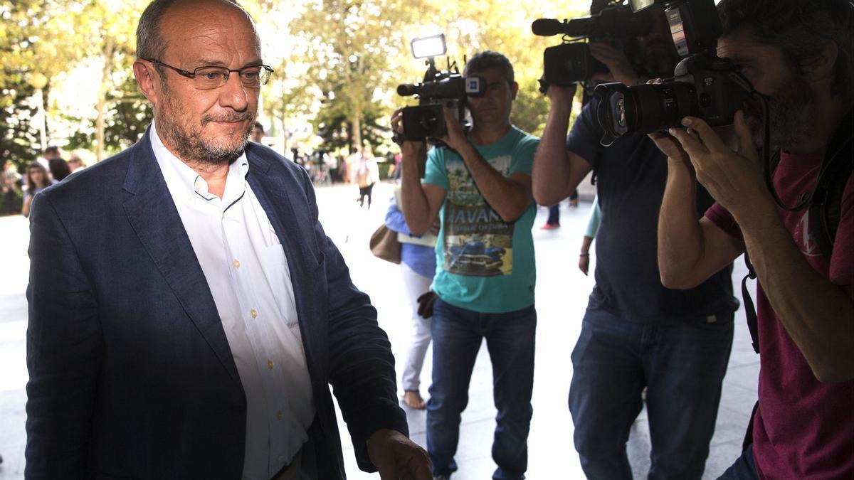 L'exsubdelegat del Govern en la Comunitat Valenciana, Rafael Rubio, en una imatge de 2016. EFE/Manuel Bruque/Archivo