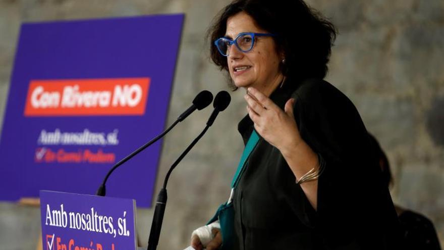 Rosa Lluch, hija de Ernest Lluch, encabeza la lista de los comunes al Senado