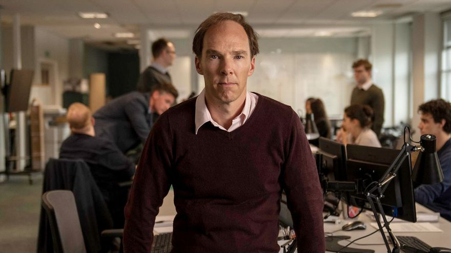 Benedict Cumberbatch como Dominic Cummings, el cerebro tras la campaña 'Vote Leave'