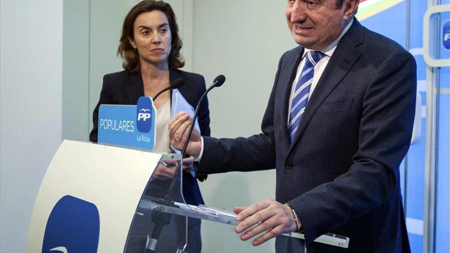 Pedro Sanz asume el documento de C's para iniciar reuniones en La Rioja
