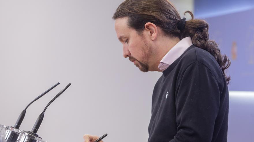 Iglesias defiende que Sánchez se reúna con Torra, tras mantener el Supremo la inhabilitación de éste como diputado