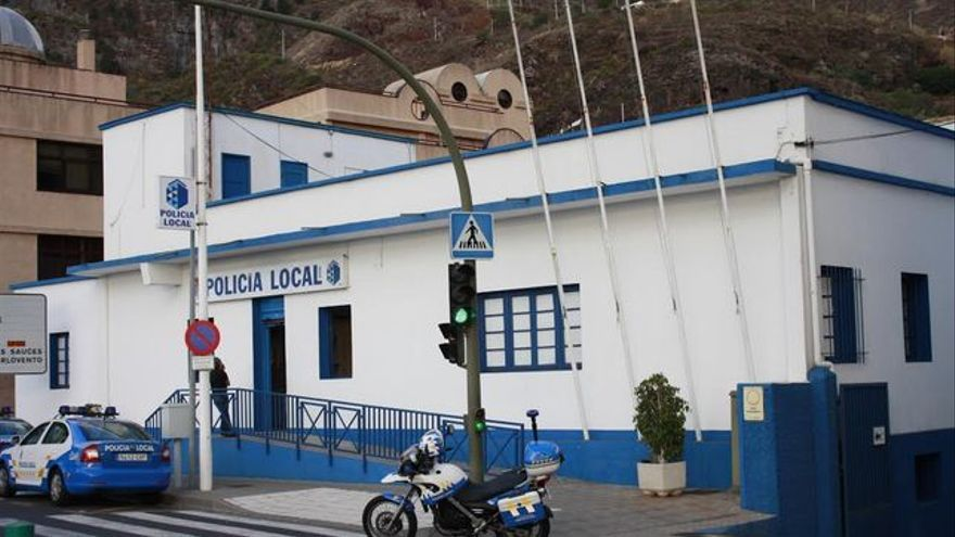 Dependencias de la Policía Local de Santa Cruz de La Palma.