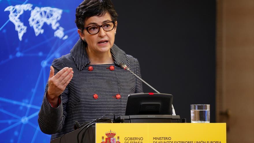González Laya: El Gobierno no se interpondrá si la Justicia reclama al líder polisario