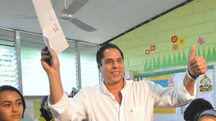 En la imagen, el exalcalde de Tegucigalpa Miguel Pastor.