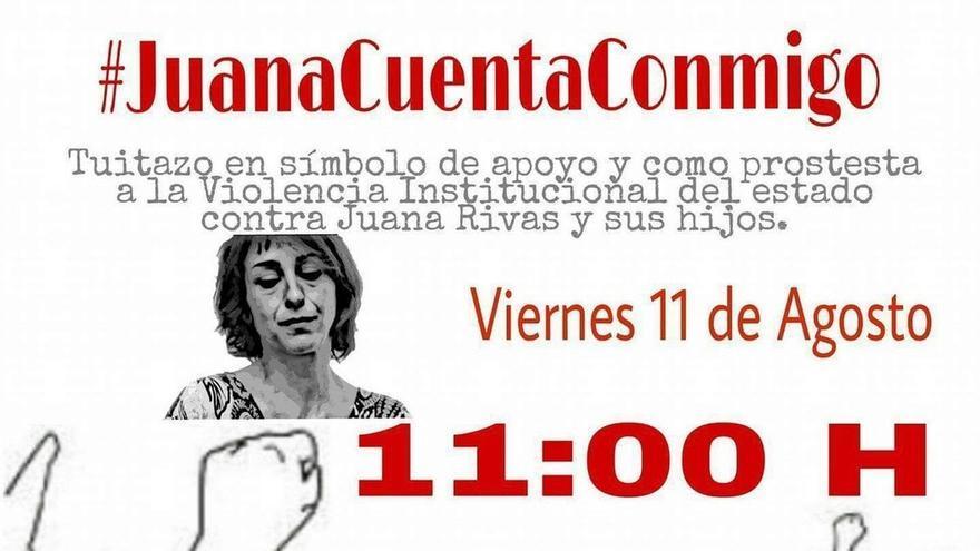 La campaña 'Juana cuenta conmigo' llena Twitter de mensajes de apoyo a la madre de Maracena
