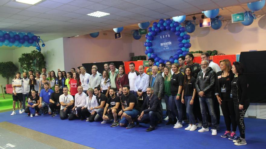 Inauguración de la Feria del Corredor este jueves.