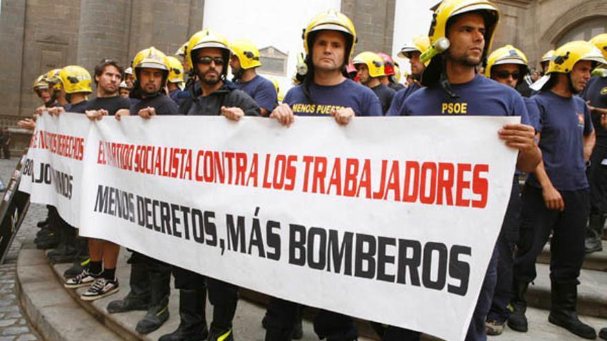 De la protesta de los bomberos #2