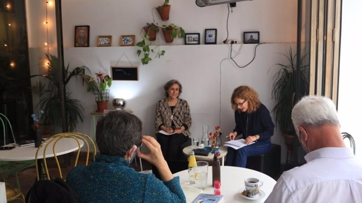 La sesión de 'Cienciaficcionados' en el Restaurante El Astronauta