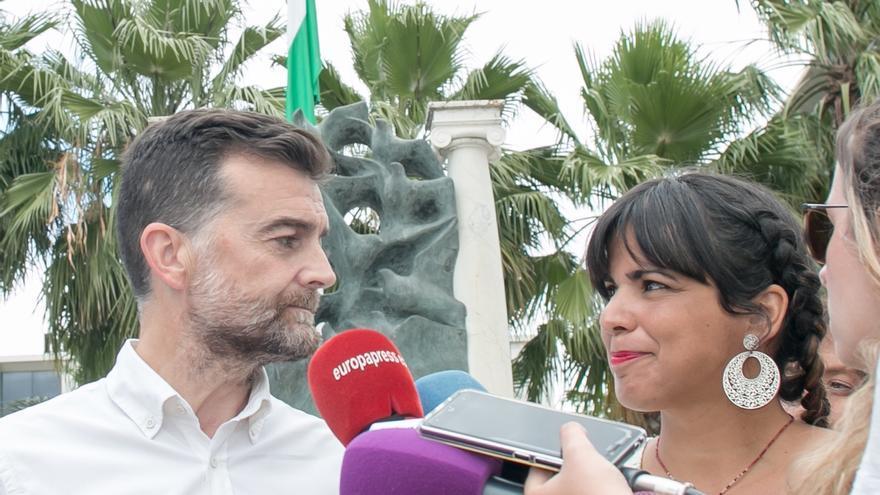 Teresa Rodríguez y Antonio Maíllo afrontarán la próxima legislatura como la última como diputados del Parlamento andaluz