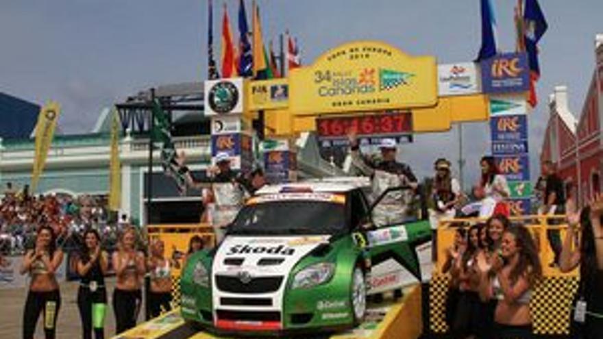 Edición anterior del Rally Islas Canarias El Corte Inglés.