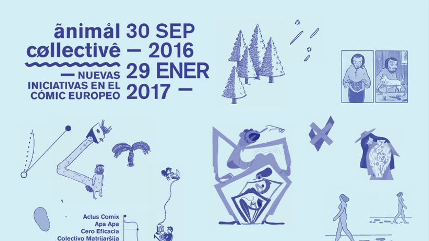 'Animal Collective', póster de la exposición