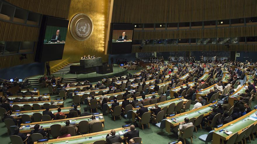 Asamblea General de Naciones Unidas, 2015 (UN Photo/Eskinder Debebe)