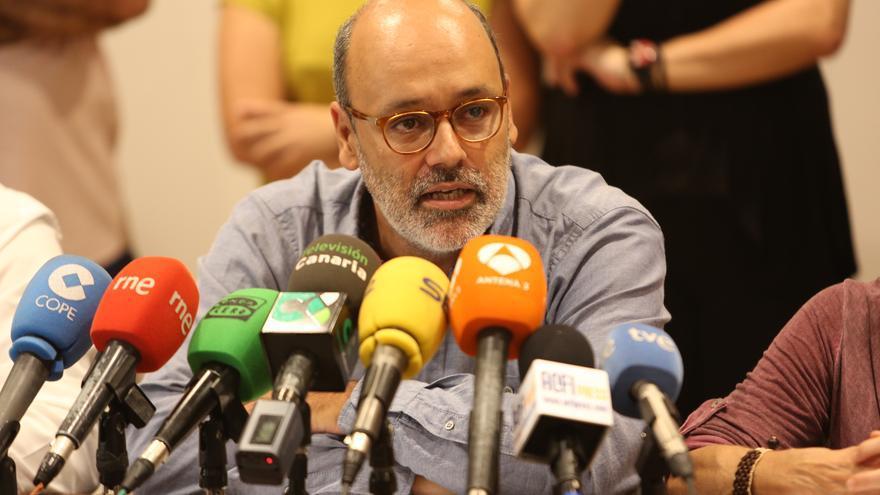 El vicepresidente segundo del Cabildo de Gran Canaria Juan Manuel Brito (ALEJANDRO RAMOS)