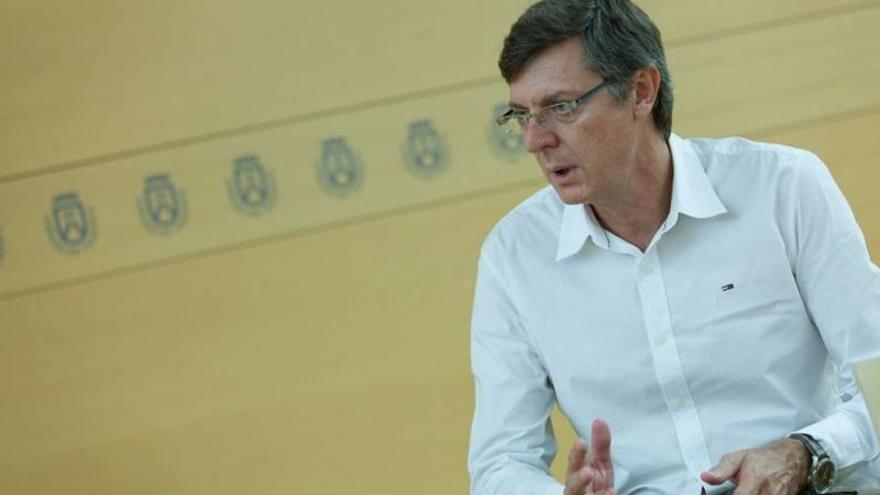 Miguel Becerra, director insular de Fomento del Cabildo de Tenerife / EP
