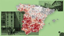 MAP |  The municipalities and neighborhoods most affected by poverty in Spain that seek to combat the minimum vital income