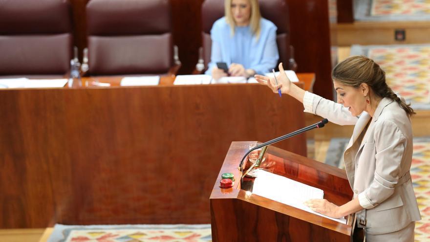 Lorena Ruiz-Huerta interviene en la moción de censura a Cristina Cifuentes
