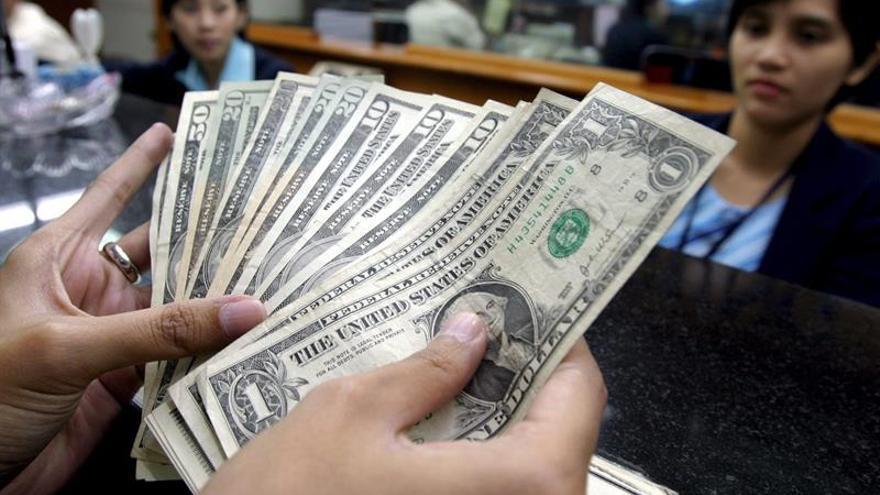 El déficit presupuestario de EE.UU. sube a 176.000 millones de dólares en marzo