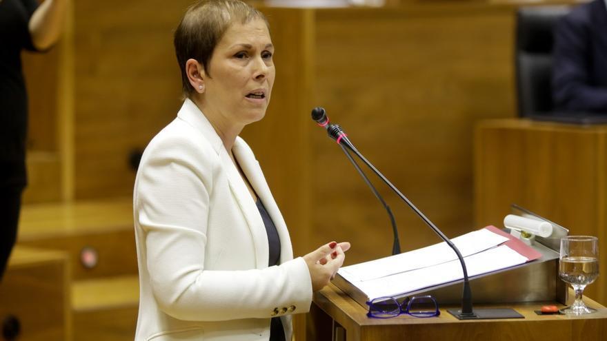 Barkos comparecerá en el Parlamento para hablar de la posición de su Gobierno sobre el proyecto de nuevo Estatuto vasco
