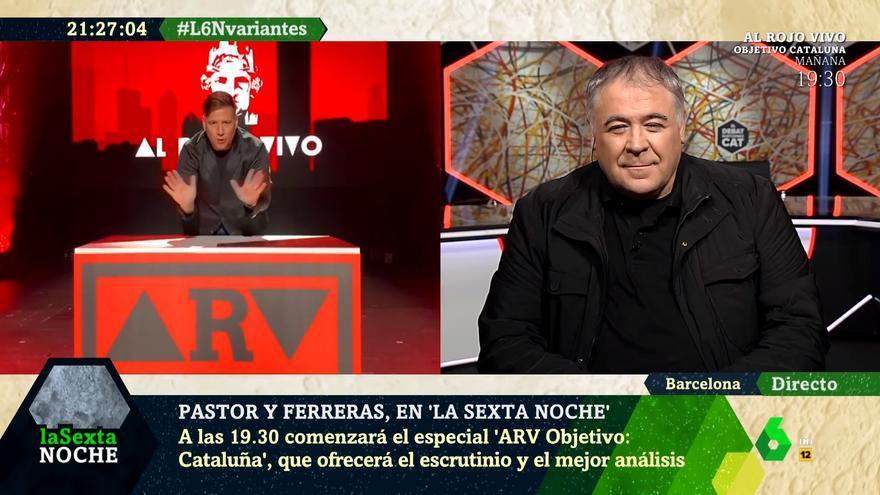 Ferreras asiste a la parodia de Carlos Latre en 'laSexta Noche'