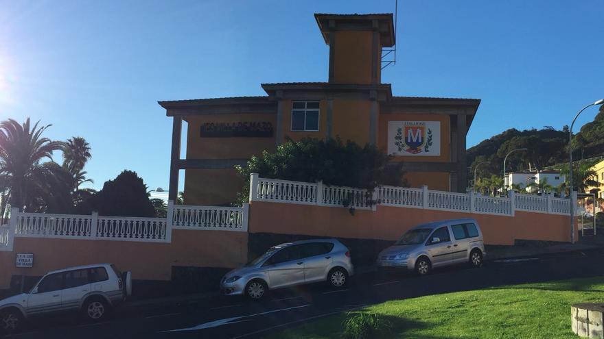 Edificio del IES Villa de Mazo.