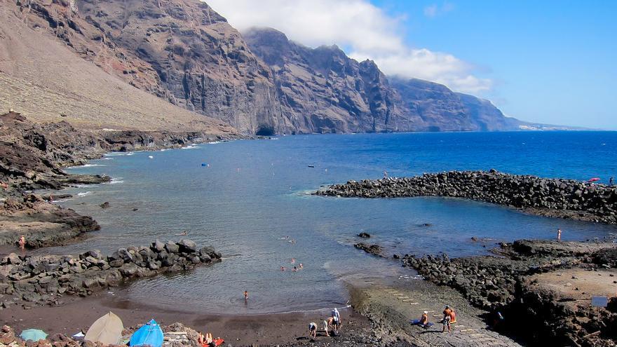 Playa de la Punta de Teno, extremo noroeste de la isla de Tenerife.