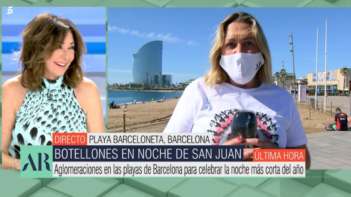 Maika Navarro habla de hacerse el bigote en 'El programa de AR'