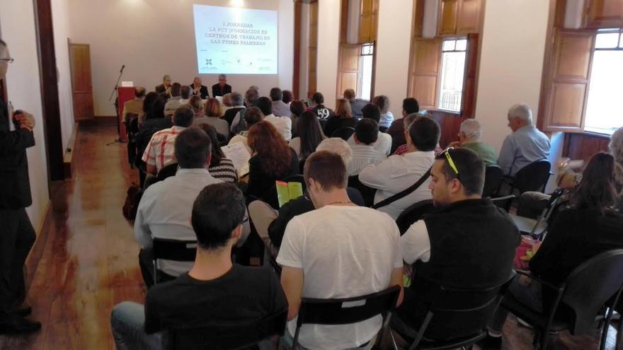En la imagen, participantes en las jornadas de Formación en Centros de Trabajo organizadas por Cepyme-La Palma.
