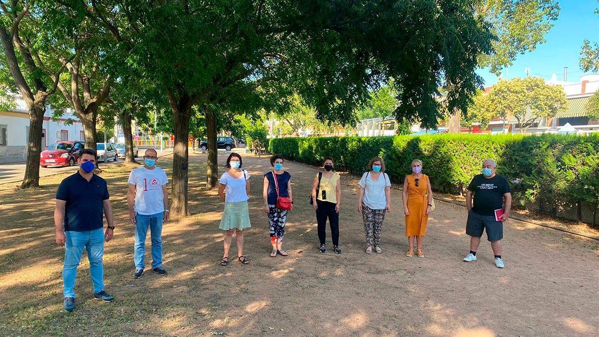 Concejales de IU en Alcolea.