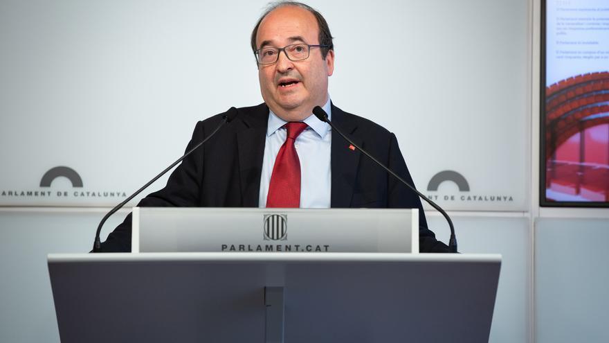 """Iceta cree que sería """"un error"""" que el Parlament impidiera a un catalán presidir el Senado"""