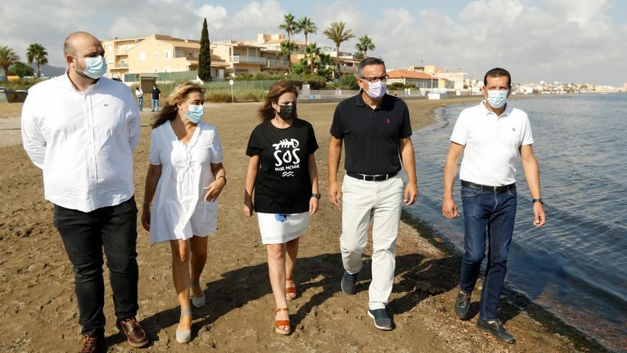 Lastra: El colapso del Mar Menor es un grito de aviso de la naturaleza
