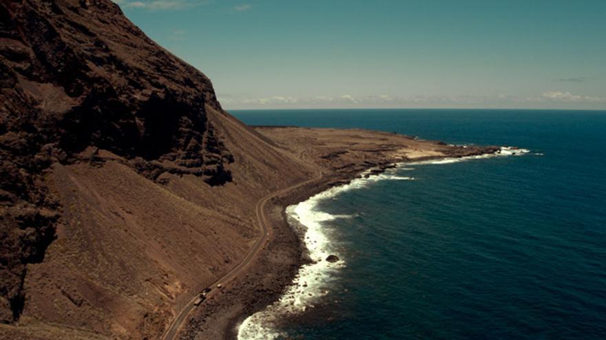 Imagen de la isla de El Hierro.