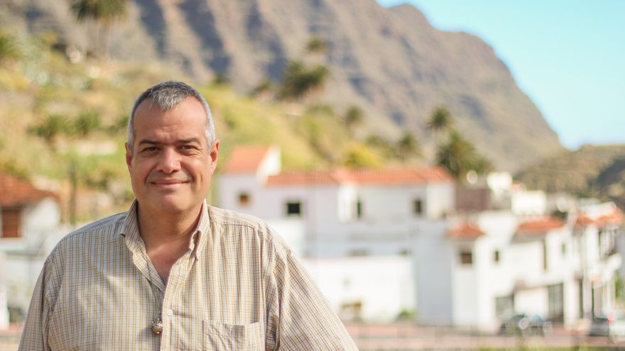 Antonio Febles, candidato a la Alcaldía de Hermigua por la ASG