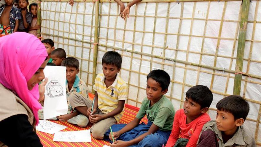 El 7,5 % de niños rohinyás en Bangladesh sufren malnutrición severa