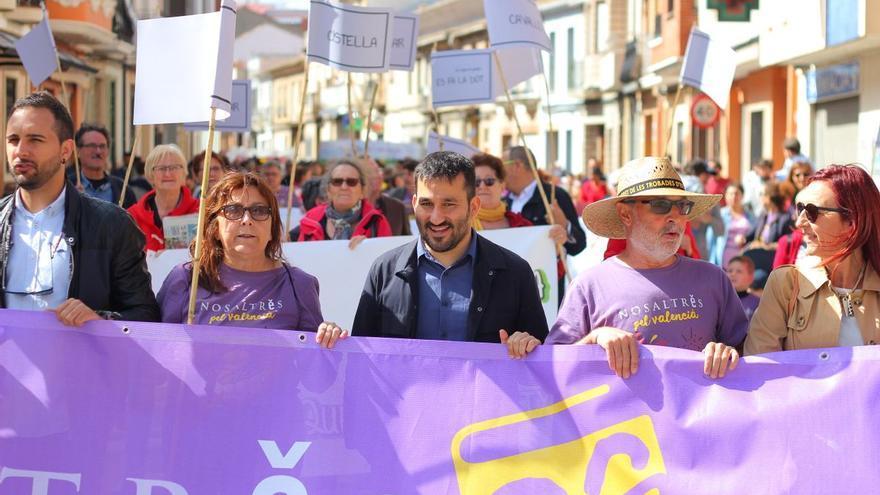 El conseller Vicent Marzà participa en la 'trobada' de Escola Valenciana en Castellar-l'Oliveral.