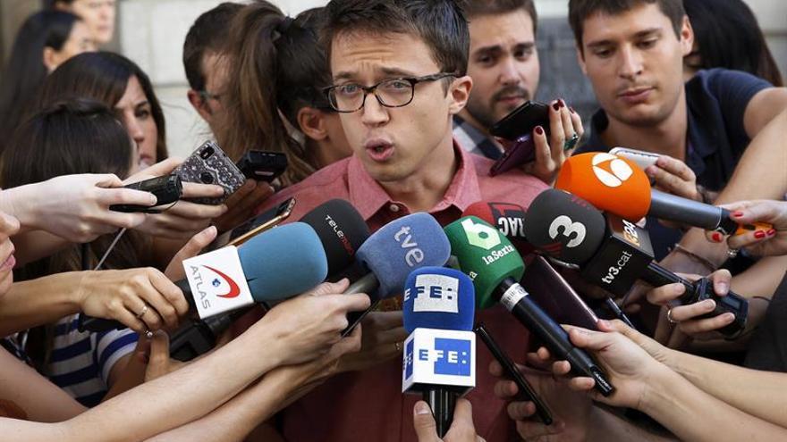 """Errejón: """"Siempre hay tiempo para que Rajoy levante el teléfono"""""""