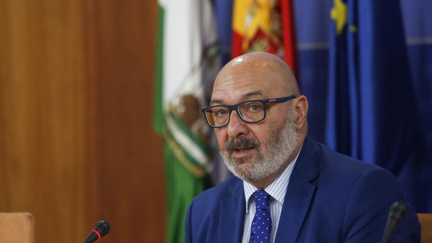 Alejandro Hernández, portavoz de Vox en el Parlamento de Andalucía
