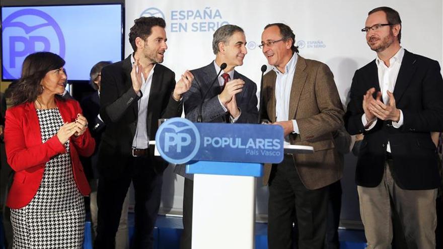 """Alonso: Parece que los españoles quieren otro gobierno """"de garantías"""" del PP"""
